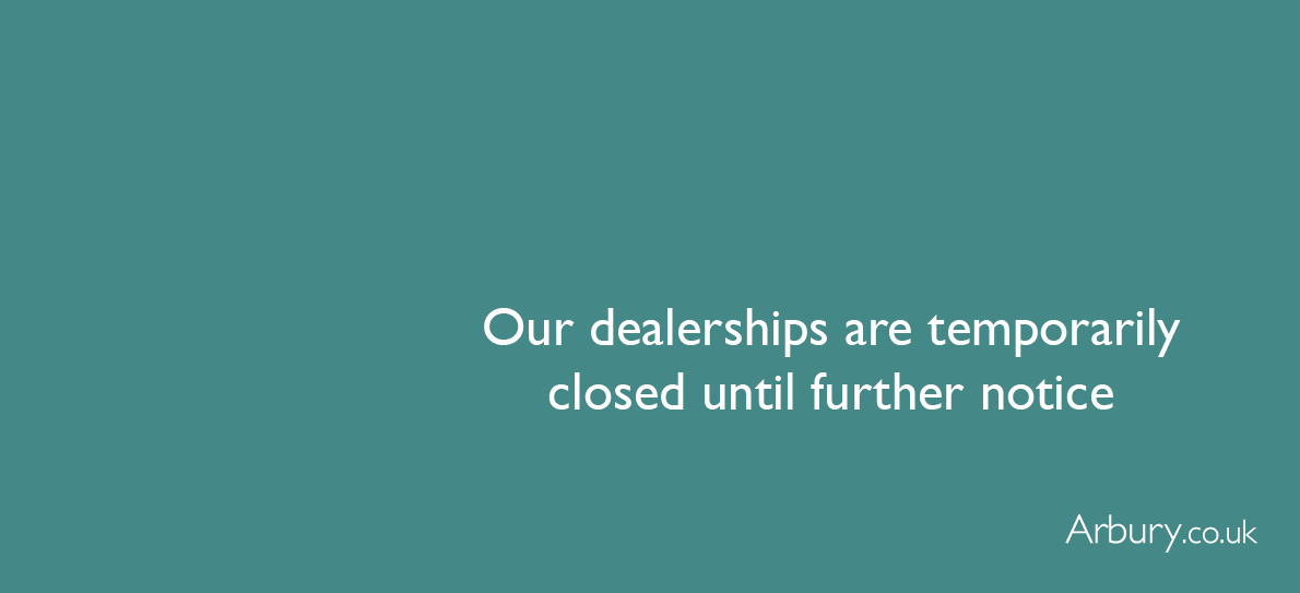Our dealerships are closed