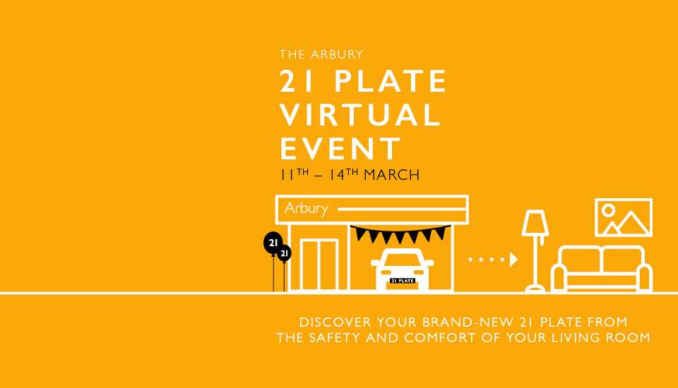 The Arbury 21 Plate Virtual Event